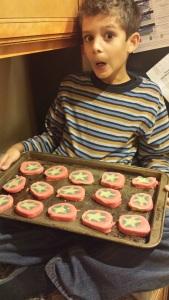 capt america cookies