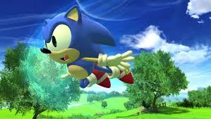 sonic flying